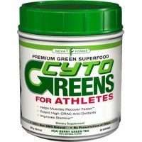 NovaForme CytoGreens For Athletes Acai Berry Green Tea 535 Grams