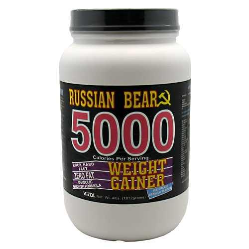 Vitol russian bear 5000 weight gainer