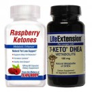 Dr. Oz Fat Loss Stack Raspberry Ketones & 7-Keto DHEA