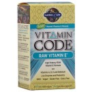 Garden of Life Vitamin Code Raw Vitamin E 60 Vege Caps