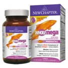 New Chapter WHOLEmega Prenatal 500mg 90 Soft Gels