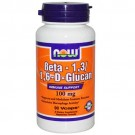 Now Foods Beta 1,3/1,6-D Glucan 100mg 90 Vege Caps