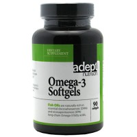 Adept Nutrition Omega-3 90 Softgels