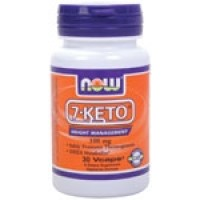 Now Foods 7-Keto 100mg 30 Vege Caps