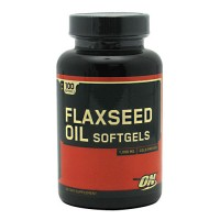 Optimum Nutrition Flaxseed Oil 1000mg 100 Softgels