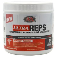 Anabolic Xtreme Ultra Reps Refreshing Wild Berry 20  Servings