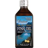 Carlson Finest Fish Oil Liquid Omega 3 Lemon Flavor 200mL