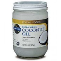 Garden of Life 100% Organic Extra Virgin Coconut Oil 16 oz