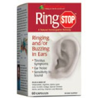 Natural Care Ring Stop (for ringing/buzzing ears) 60 caps