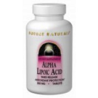 Source Naturals Alpha Lipoic Acid 200mg - 60 Caps
