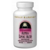Source Naturals Alpha Lipoic Acid 200mg - 60 Caps