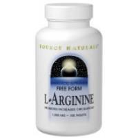 Source Naturals L-Arginine 500mg 100 Caps