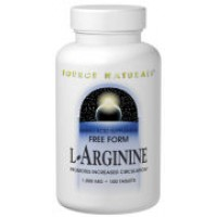 Source Naturals L-Arginine 1000mg 100 Tabs