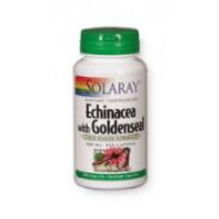 Solaray Echinacea w/ Goldenseal 500mg 100 Caps