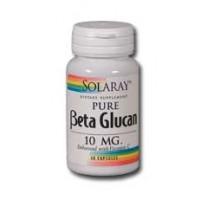 Solaray Beta Glucan 10mg Enhanced w/ Vitamin C 60 caps