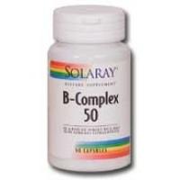 Solaray B-Complex 100 50 Caps