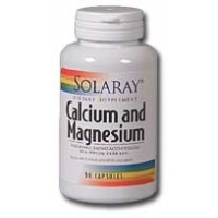 Solaray Calcium and Magnesium 1000mg/500mg 180 caps