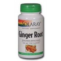 Solaray Ginger Root 550mg 100 Caps