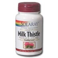 Solaray Milk Thistle Extract 175mg 60 Caps