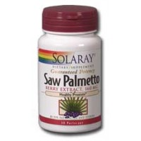 Solaray Saw Palmetto Berry Extract 160mg 120 Softgels