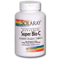 Solaray Super Bio C Buffered (Ultimate Vitamin C Formula) 1000mg 250 Caps