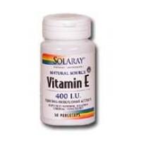 Solaray Vitamin E 400 IU 100 Softgels