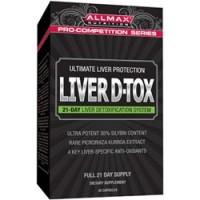 Allmax Nutrition Liver D-Tox 42 Caps