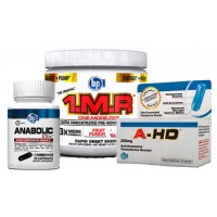 BPI Sports Elite Stack (1MR, A-HD & Anabolic Elite)