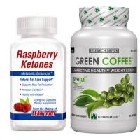 Burn the Fat Stack (Raspberry Ketones & Green Coffee Bean Extract)