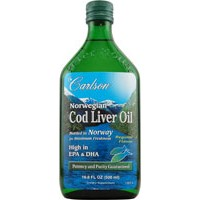 Carlson Norwegian Cod Liver Oil Unflavored 500ml