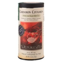 The Republic of Tea Cardamon Cinnamon Tea 36 Tea Bags