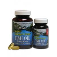 Carlson Super Omega 3 1000mg 130 Fish Gelatin Softgels (100+30 Free)