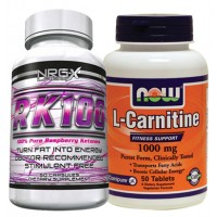 Chest, Arms and Back Fat Loss Stack (L-Carnitine & Raspberry Ketones)