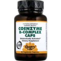 Country Life Coenzyme B-Complex 120 Vegi-Caps