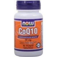 Now Foods CoQ10 60mg 60 Softgels