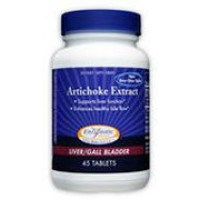 Enzymatic Therapy Artichoke Weed Extract 45 Tablets