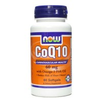 Now Foods CoQ10 60mg 60 Softgels