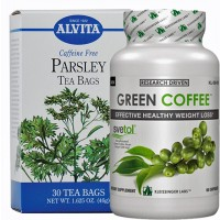 Fat Burning for Arms Stack ( Green Coffee Bean Extract & Parsley Tea)