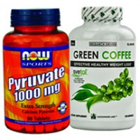 Fat Burning for Thighs Stack (Green Coffee Extract &amp; Calcium Pyruvate)