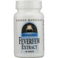 Source Naturals Feverfew Extract 50 Tabs