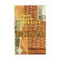 Flora (Udo's Choice) Bija Lemon Ginger Echinacea Herbal Tea Blend (Certified Organic) Caffeine Free 20 Bags