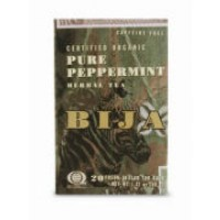 Flora (Udo's Choice) Bija Pure Peppermint Herbal Tea (Caffeine Free) 20 Bags