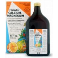 Flora Floradix Calcium-Magnesium w/Zinc, Vitamin D and Herbs 8.5 Fl Oz