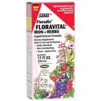Flora (Udo's Choice) Floradix Iron + Herbs 17 Fl Oz
