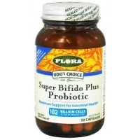 Flora (Udo's Choice) Super Bifido Plus Probiotic 30 Vege Caps