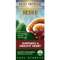 Fungi Perfect Host Defense Reishi 60 Vege Caps