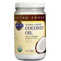 Garden of Life 100% Organic Extra Virgin Coconut Oil
