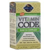 Garden of Life Vitamin Code Raw B-Complex 60 Vege Caps
