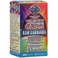 Garden of Life Vitamin Code Raw Kombucha 60 Caps