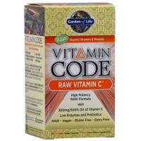 Garden of Life Vitamin Code Raw Vitamin C 60 Vege Caps